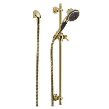 Delta 57021-PB Slide Bar Handshower - Brilliance Polished Brass