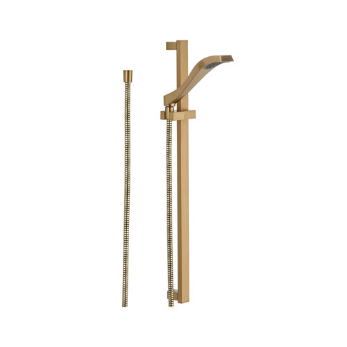 Delta 57051-CZ Dryden Single Function Slide Bar Handshower - Champagne Bronze