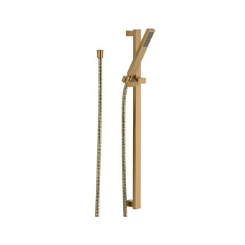 Delta 57530-CZ Vero Single Function Slide Bar Handshower - Champagne Bronze