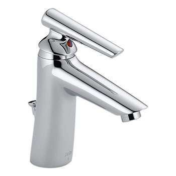 Delta 582LF-WFMPU Rhythm Single Handle Centerset Lavatory Faucet Chrome