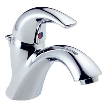 Delta 583LF-WF C-Spout Single Handle Centerset Lavatory Faucet Chrome