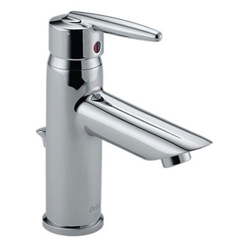 Delta 585LF-MPU Grail Single Handle/Hole Centerset Lavatory Faucet Chrome