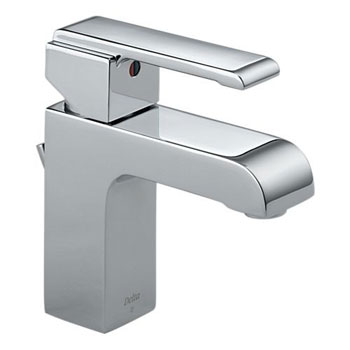 Delta 586LF-MPU Arzo Single Handle Centerset Lavatory Faucet Chrome