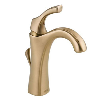 Delta 592-CZ-DST Addison Single Handle Centerset Lavatory Faucet - Champagne Bronze