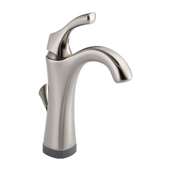 Delta 592T-SS-DST Addison Single Handle Lavatory Faucet with Touch2O Technology - Stainless