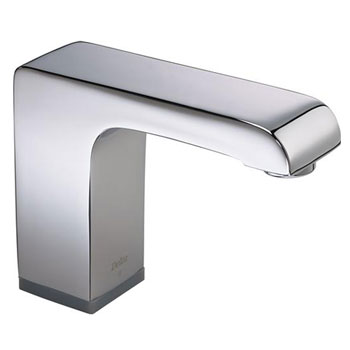 Delta Commercial 601T040 Arzo Single Hole Deckmount Electronic Proximity Faucet - Chrome