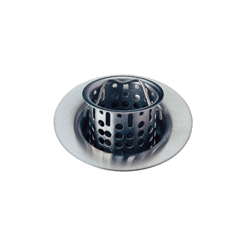 Delta 72011-AR Bar/Prep Sink Basket Strainer and Flange - Arctic Stainless