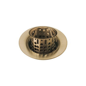 Delta 72011-CZ Bar/Prep Sink Basket Strainer and Flange - Champagne Bronze