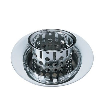 Delta 72011 Classic Bar/Prep Sink Basket Strainer and Flange Chrome