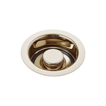 Delta 72030-BB Classic Garbage Disposal Flange and Stopper Brilliance Brass