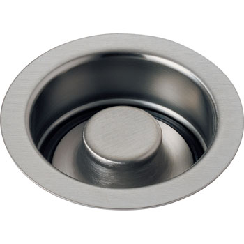 Delta 72030-SS Classic Garbage Disposal Flange and Stopper Brilliance Stainless