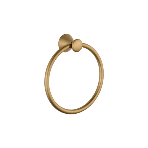 Delta 73846-CZ Lahara Towel Ring - Champagne Bronze