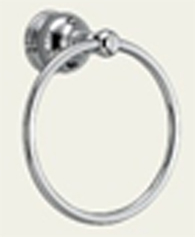 Delta 74046 Traditional Towel Ring Chrome
