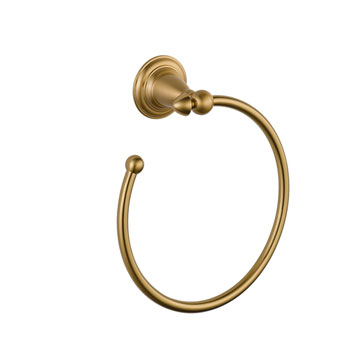 Delta 75046-CZ Victorian Open Towel Ring - Champagne Bronze