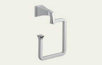 Delta 75146 Dryden Towel Ring Chrome