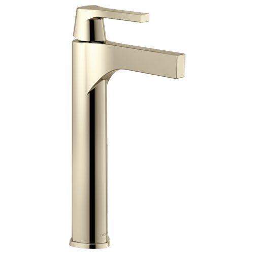 Delta 774-PN-DST Zura Single Handle Vessel Lavatory Faucet - Polished Nickel