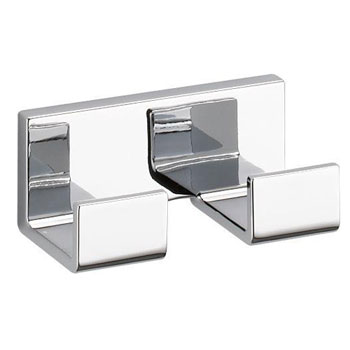 Delta 77736 Vero Double Robe Hook - Chrome