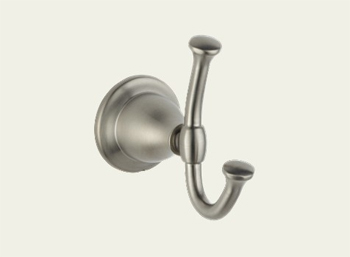 Delta 79035-SS Lockwood Double Robe Hook Brilliance Stainless