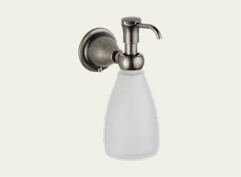 Delta 79055-PT Lockwood Wall Mount Lavatory Soap/Lotion Dispenser Aged Pewter