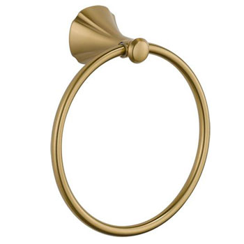 Delta 79246-CZ Addison Towel Ring - Champagne Bronze