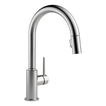 Delta 9159-AR-DST Trinsic Single Handle Pull-Down Kitchen Faucet - Stainless