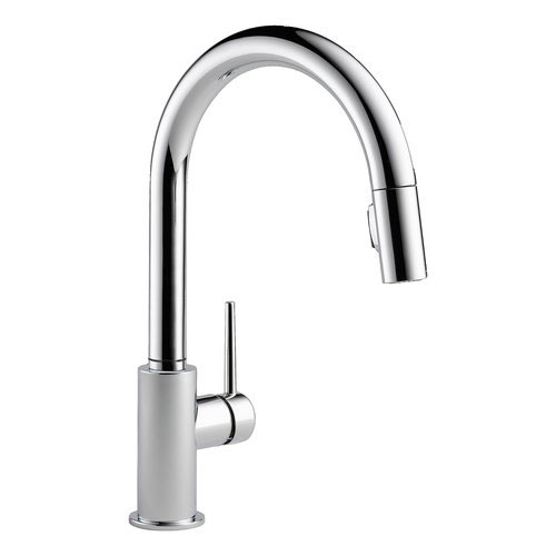 Delta 9159-DST Trinsic Single Handle Pull-Down Kitchen Faucet - Chrome