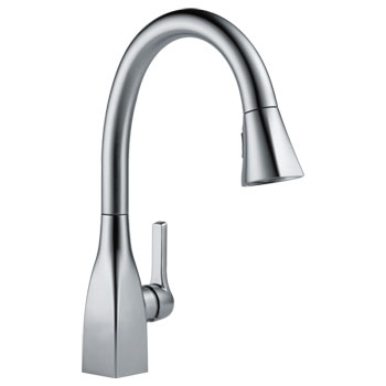 Delta Pull Down Kitchen Faucet delta 9183-ar-dst mateo single handle pull-down kitchen faucet