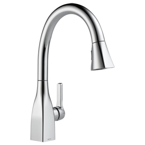 Delta 9183-DST Mateo Single Handle Pull-Down Kitchen Faucet - Chrome