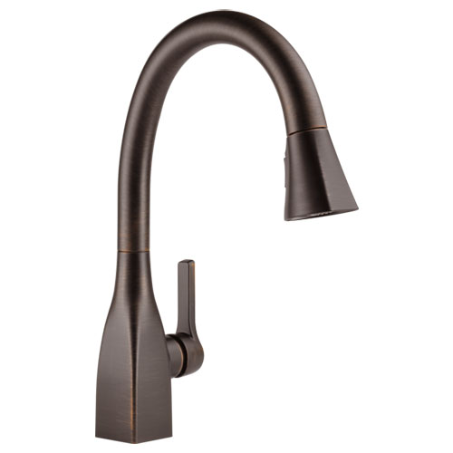 Delta 9183-RB-DST Mateo Single Handle Pull-Down Kitchen Faucet - Venetian Bronze