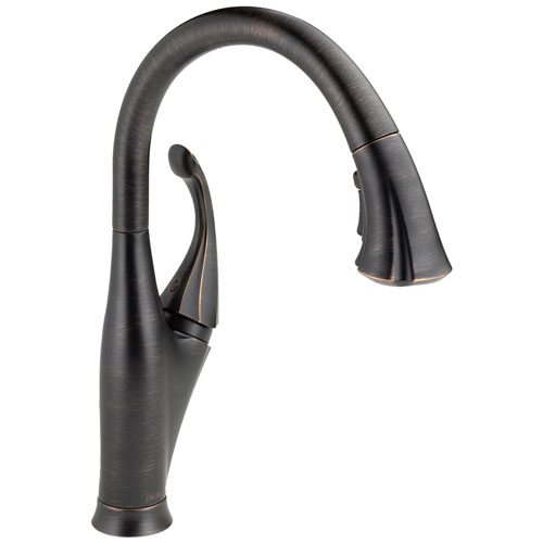 Delta 9192-RB-DST Addison Single Handle Pull-Down Kitchen Faucet - Venetian Bronze