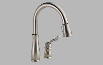 Delta 978-SSWE-DST Leland Single Handle Pull-Down Kitchen Faucet with DIAMOND Seal Technology - Brilliance Stainless