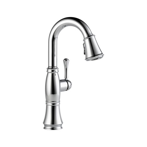 Delta 9997-DST Cassidy Single Handle Bar/Prep Faucet - Chrome