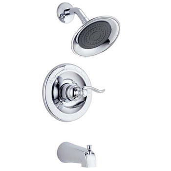 Delta BT14496 Foundations Windemere Monitor 14 Series Tub and Shower Trim - Chrome