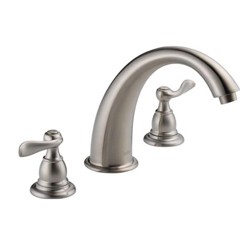 Delta BT2796-SS Foundations Windemere Roman Tub Faucet Trim - Brilliance Stainless