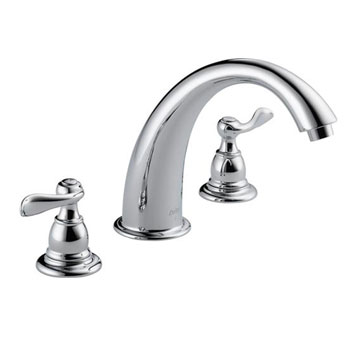 Delta BT2796 Foundations Windemere Roman Tub Faucet Trim - Chrome