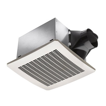 Delta Breez VFB25ADH 110 CFM Super Efficient Humidity Sensing Bath Fan - White