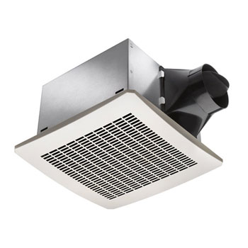 Delta Breez VFB25AEH 130 CFM Super Efficient Humidity Sensing Bath Fan - White