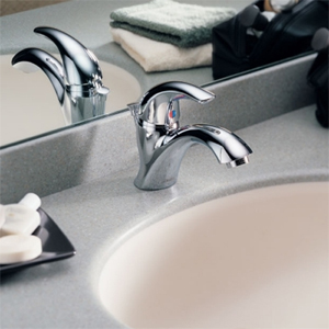 Delta Commercial 22C801 Teck (R) Series Single Hole Lavatory Faucet Chrome