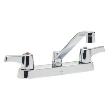Delta Commercial 26C3133 Teck (R) Series Two Handle Kitchen Faucet Chrome