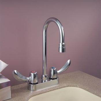 Delta Commercial 27c4842 Teck R Series Two Handle Bar Faucet Chrome