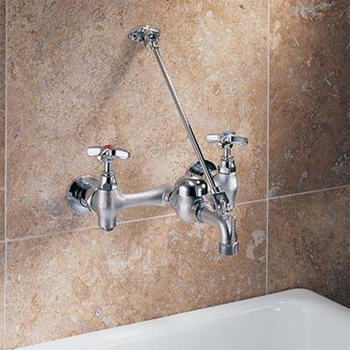 Delta Commercial 28T9 Teck (R) Series Wall-Mount Service Sink Faucet ...