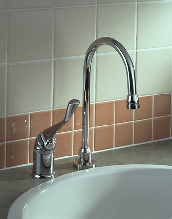 Delta Commercial 711-WFHDF HDF (R) Series Single Handle Utility Faucet Chrome