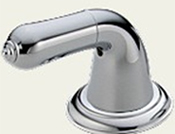 Delta H24 Innovations Lever Handle Base Chrome (Set of Two)