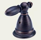 Delta H516RB Victorian Metal Lever Handle Venetian Bronze