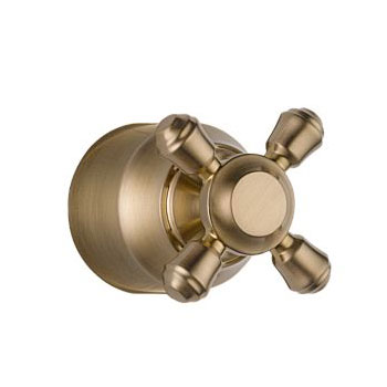 Delta H595CZ Cassidy Single Cross Bath Diverter or Transfer Valve Handle Kit - Champagne Bronze