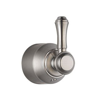 Delta H597SS Cassidy Single Level Bath Diverter or Transfer Valve Handle Kit - Stainless Steel