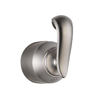 Delta H598SS Cassidy Single French Curve Bath Diverter or Transfer Valve Handle Kit - Stainless Steel