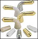 Delta H64PB Innovations Handle Base Brilliance Polished Brass (Set of Two)