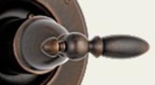 Delta H716RB Victorian Metal Lever Handle Venetian Bronze