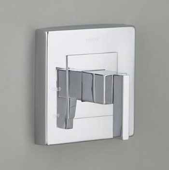 Kohler K-T14671-4-BN Loure Rite-Temp Valve Trim without Diverter - Brushed Nickel (Pictured in Chrome)